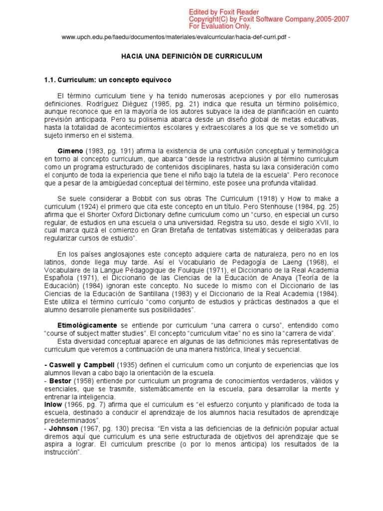 Anónimo - Hacia una definición de curriculum.pdf