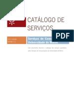 Catalogo Servicos SCOM UMinho-V1.2-20110408