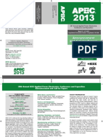 Apec 2013 Callforpapers