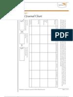 Food Journal Chart Activity Worksheet