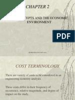 Engeco Chap 02 - Cost Concepts and Design Economics
