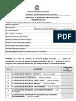 RELATÓRIO SEMESTRAL DE ATIVIDADES EM EQUIVALÊNCIA 2012-1 (1)