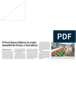 Peru lider en exportacion frutas