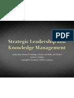 10 Strategic Leadership and Knowledge Managment