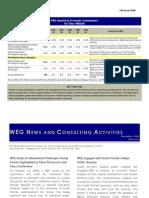 Fall 2008 WEG Newsletter