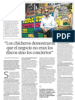 El negocio de la música Chicha en el Perú