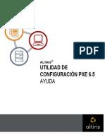 Utilidad de Configuracion Pxe