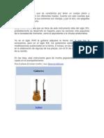 Instrumento Musical Que Se Caracteriza Por Tener Un Cuerpo Plano y Entallado