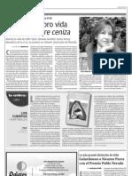 Sandra Frid en Milenio Nuevo León