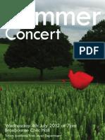 July IV 2012 Concert Final