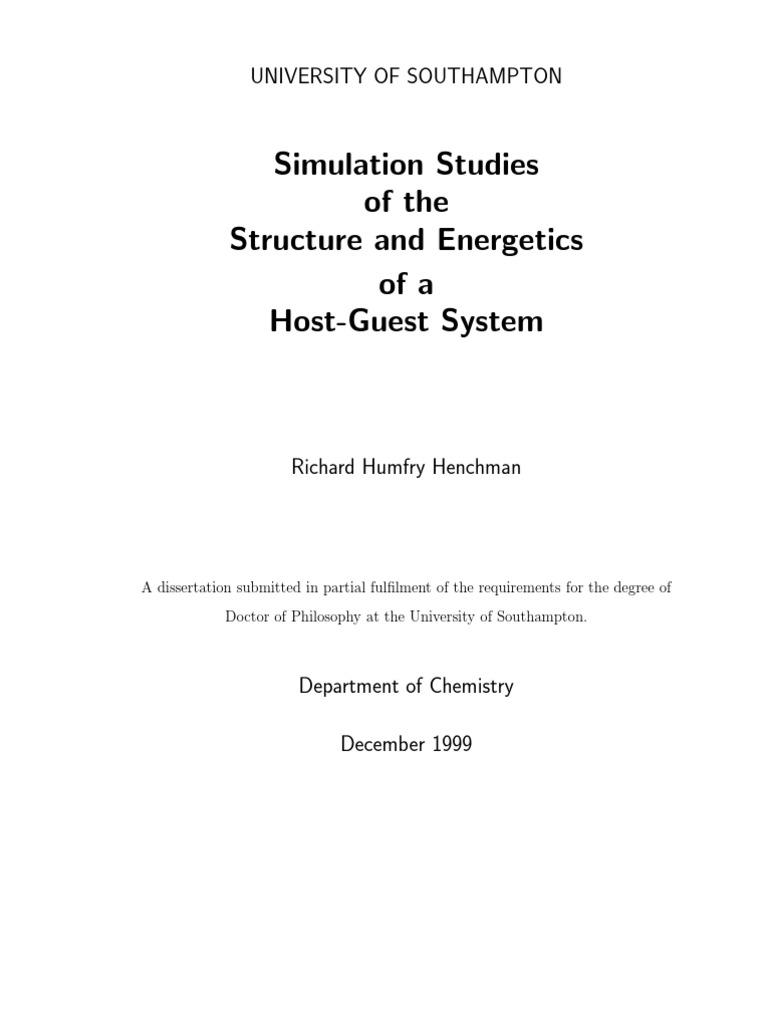 Phd thesis computer