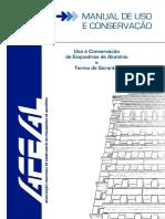 Manual de uso e manutenção