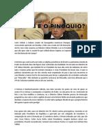 Lula e Gilmar Mendes - Quem é o Pinóquio?