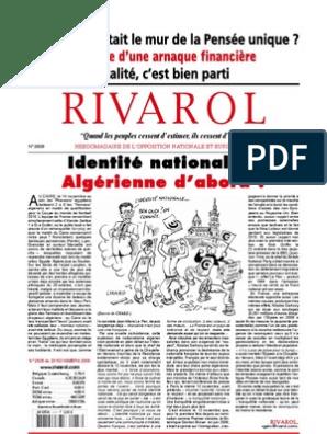 marques reconnues 60% pas cher premier taux 28704790-Rivarol-2928   Homophobie   Homosexualité
