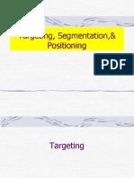 targetiing &segmentation