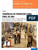 Varejo - Tendencias de Promocoes Para o Final Do Ano