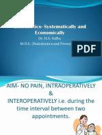 Endodontics- Symmetrical and Economical