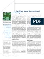 Horng & Loeb New Thinking About Instructional Leadership