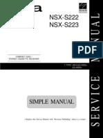 AIWA NSX-S222_223