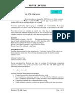 Lecture 2 - Fundamentals of VB