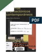 Montaner - Sistemas Arquitectonicos Contemporáneos