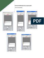 Ejemplos de Interfaces de La Clase Alert - para 4to. de secundaria - claretiano
