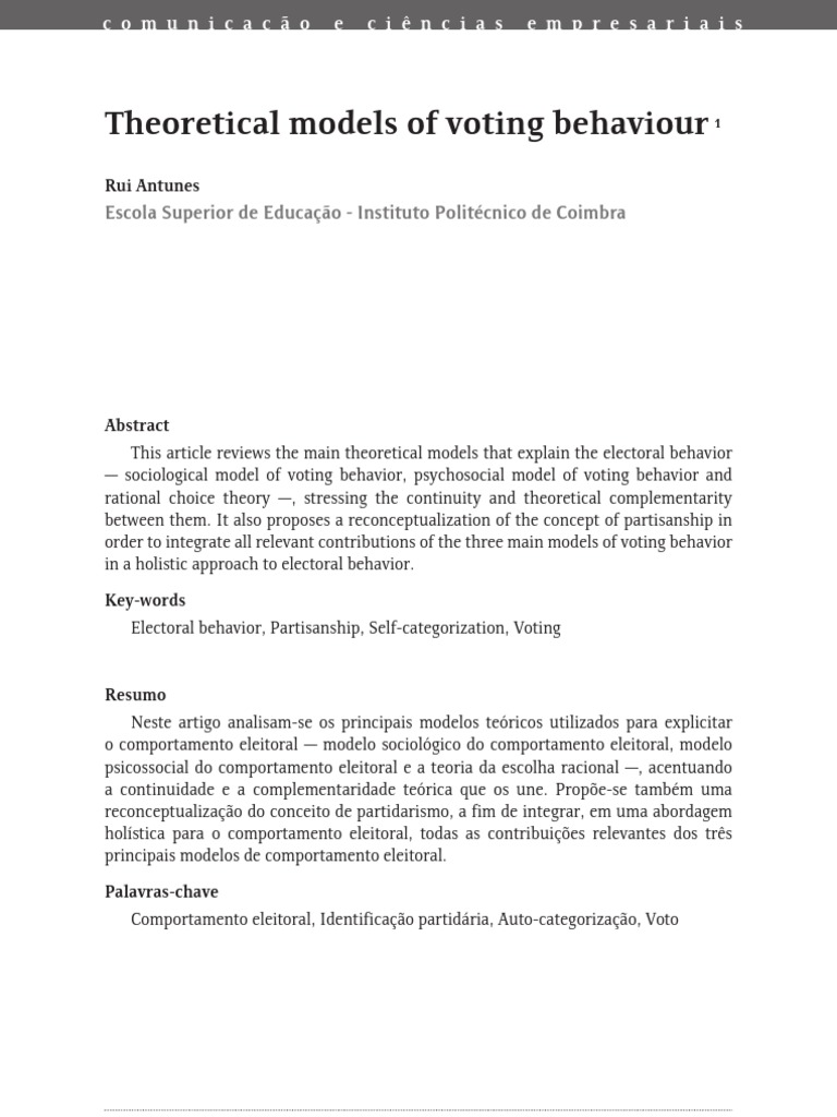 partisanship and electoral incentives essay Populism, partisanship, and the funding of political campaigns tilman klumpp the monetary incentives a candidate faces in such elections are exactly the opposite.