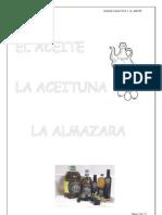 La Aceituna, El Aceite y La Almazara.