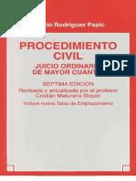 Jucicio Ordinario de Mayor Cuantia