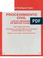 Jucicio Ordinario de Mayor Cuantia