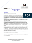 The Monarch Report 6-11-2012