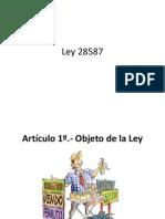 Ley 28587