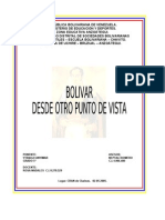 Bolivar Desde Otro Punto de Vista