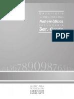 Desarrollo de Habilidades Matemc3a1ticas Cuadernillo de Apoyo 2012 Tercer Grado Del