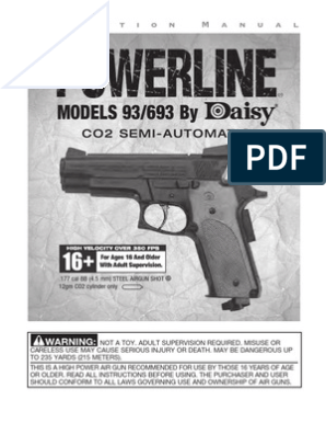 93-693 Web Manual   Trigger (Firearms)   Projectile Weapons