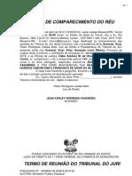 Jean Farley Ferreira Fagundes - Tribunal Do Juri