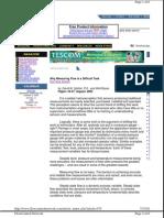 Flow Meter Tutorial - Why Measuring Flow is a Difficult Task