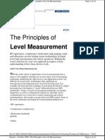 Principles of Level - Vass
