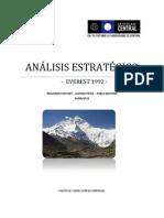 ANÁLISIS ESTRATÉGICO-Everest1992