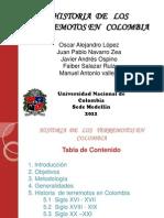 Historia de Los Terremotos en Colombia