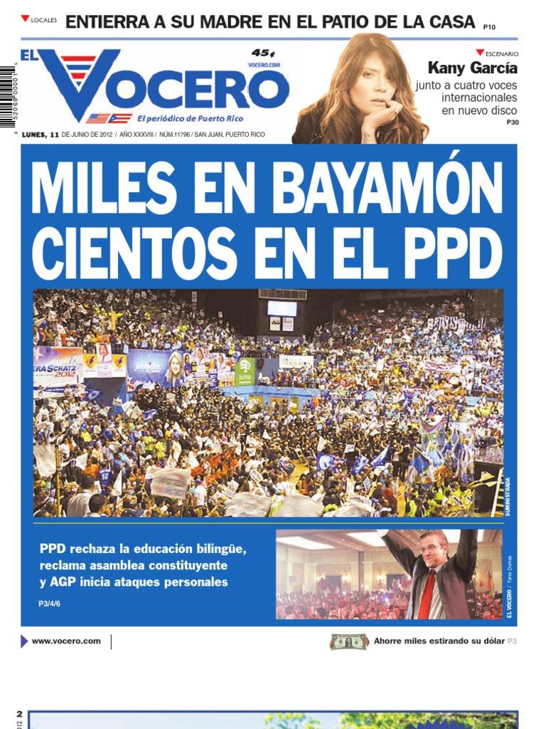 Lunes 11 De Junio De 2012 España Política General