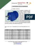 Reductor y Motoreductor