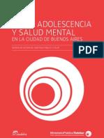 Informe Anual 2011 - Niñez, Adolescencia y Salud Mental CABA
