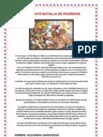 24 de Mayo Batalla de Pichincha