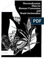 Thermodynamic Data for Biomass Conversion and Waste Incineration Domalski (SERI 1987)