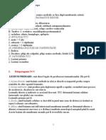 Subiecte examen neurochirurgie