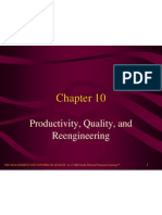 CHP 10 Productivity, Quality and Reengineering