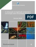 Adequação da legislação ambiental à CDB