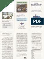 Boletim da iMel de Vila Bonilha de Ago/97