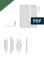 Teoría de placas, Capítulos 01 al 10